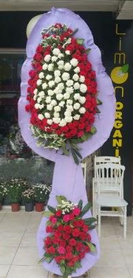 Çift katlı işyeri açılış çiçek modeli  Niğde çiçek yolla