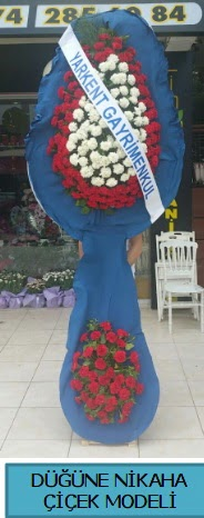 Düğüne nikaha çiçek modeli  Niğde İnternetten çiçek siparişi