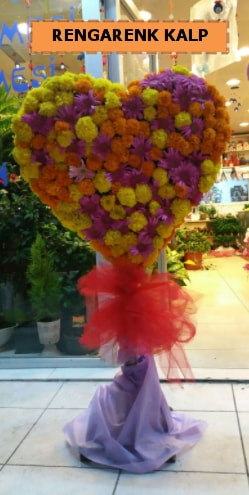 Ankara mevsim çiçeklerinden kalp perförje  Niğde çiçek yolla , çiçek gönder , çiçekçi