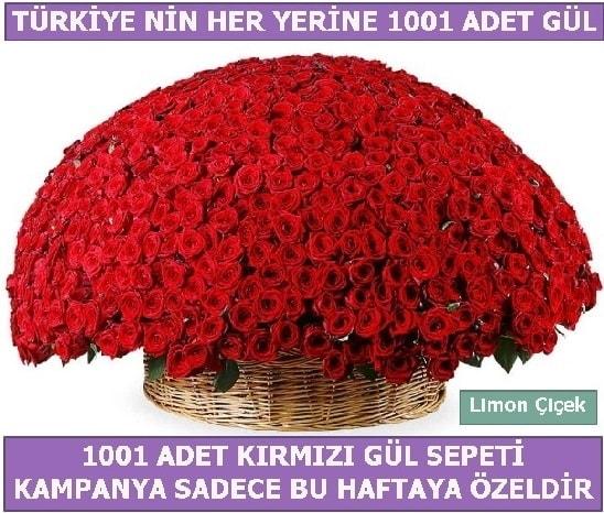 1001 Adet kırmızı gül Bu haftaya özel  Niğde kaliteli taze ve ucuz çiçekler