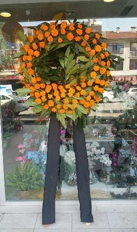 Cenaze çiçeği cenaze çelengi çiçek modeli  Niğde online çiçekçi , çiçek siparişi