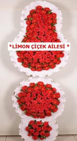 3 katlı kırmızı düğün açılış çiçeği  Niğde online çiçekçi , çiçek siparişi