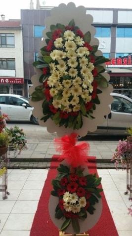 Çift katlı düğün açılış çiçeği  Niğde İnternetten çiçek siparişi