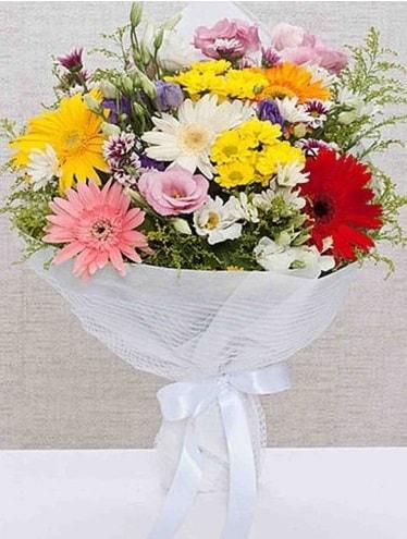Karışık Mevsim Buketleri  Niğde çiçek yolla