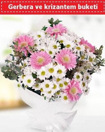 Papatya ve Gerbera Buketi  Niğde çiçek gönderme sitemiz güvenlidir
