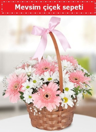 Mevsim kır çiçek sepeti  Niğde çiçek gönderme sitemiz güvenlidir